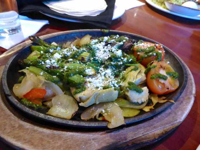 vegetables Fajita