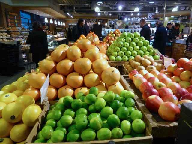 Wholefoods fruit display