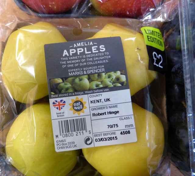 Amelia apples