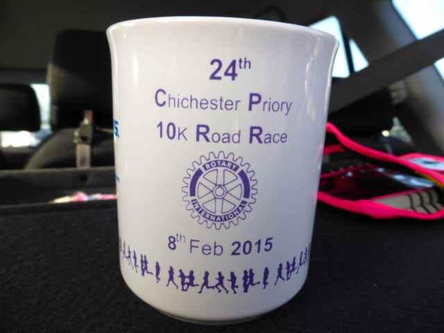 Chi road race mug
