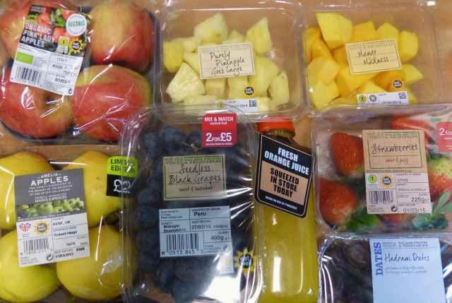 M&S fruit selection