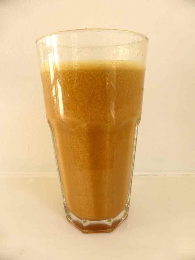 orange coloured juice