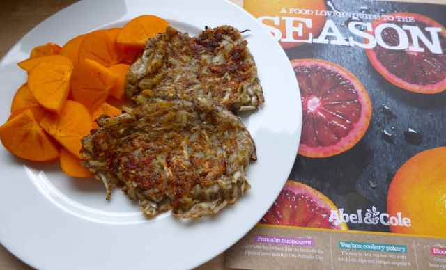 persimmon and rosti