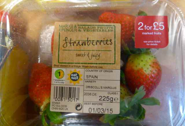 Strawberries M&S