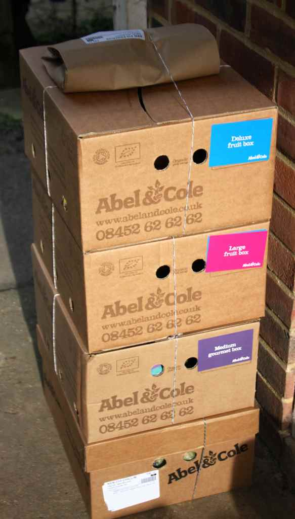 Abel & Cole fruit boxes