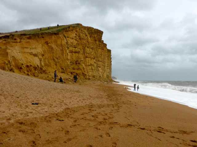 Broadchurch beach