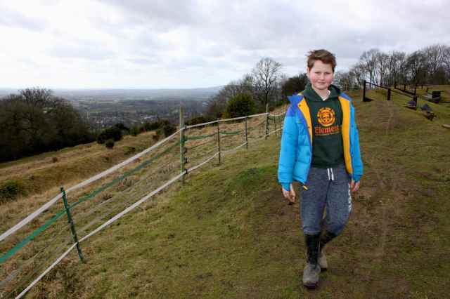 H on Reigate Hill