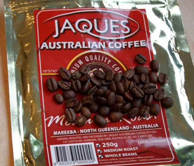 Jaques coffee beans