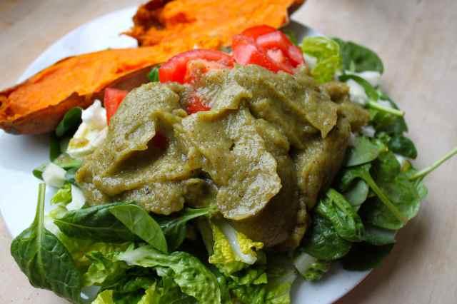 kiwi and celery dressing