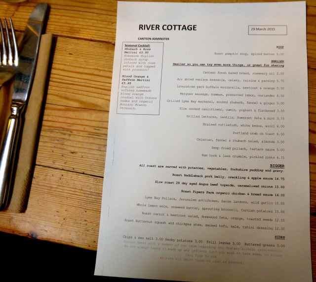 RC menu