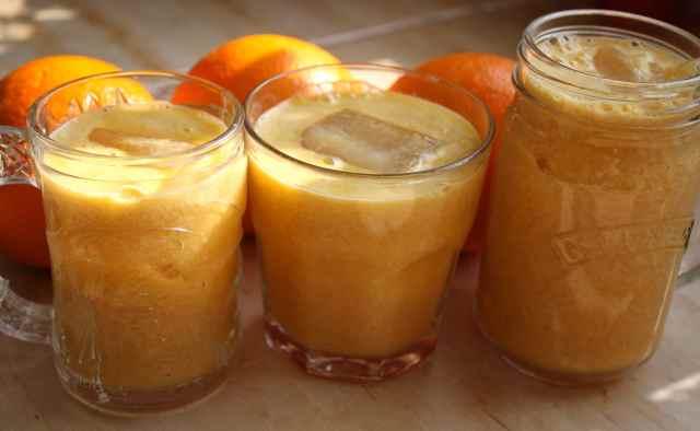 3 breakfast juices