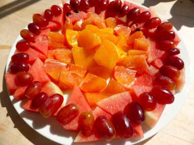 4 fruit breakfast