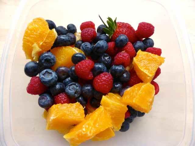 breakfast berries