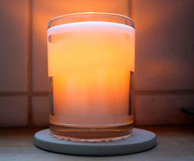 candle dusk