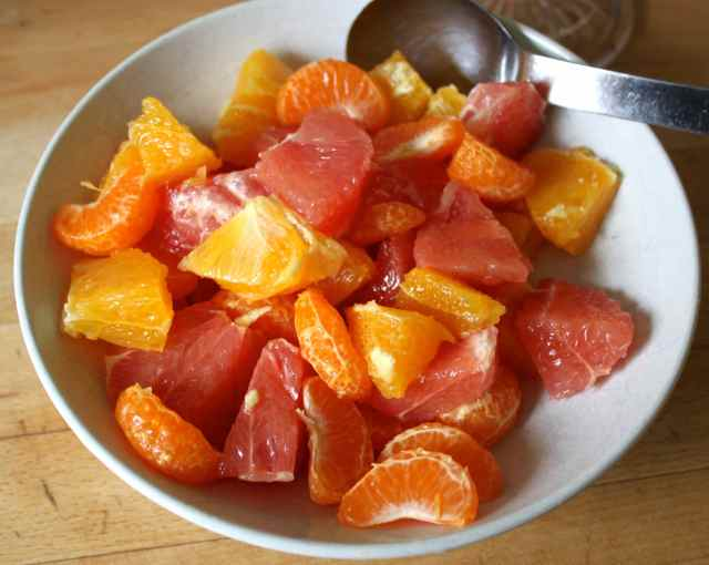 citrus fruit salad 1