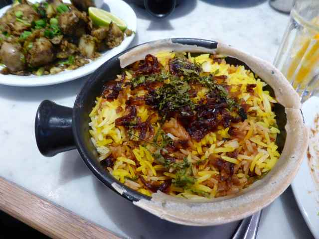 Dishoom veg biryani