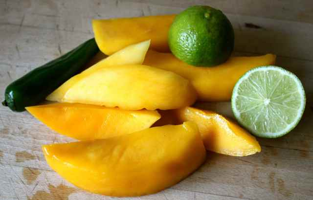 mango, lime and chilli