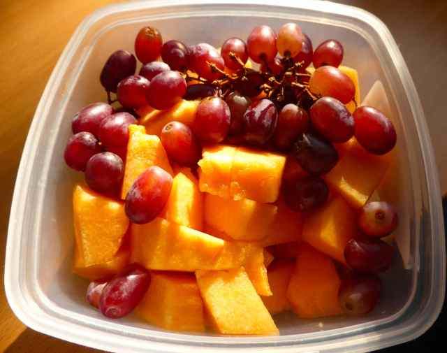 melon and grapes 20-4-15