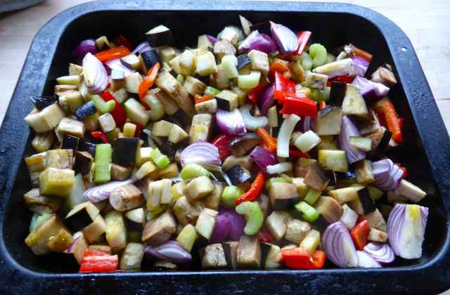 oven roasted ratatouille
