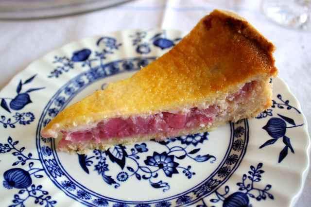 rhubarb and custard