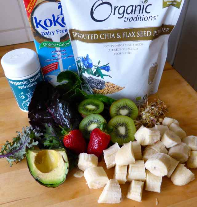 Smoothie ingredients 19-4-15
