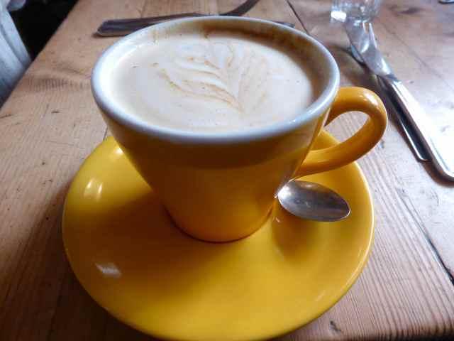 soy milk latte BC