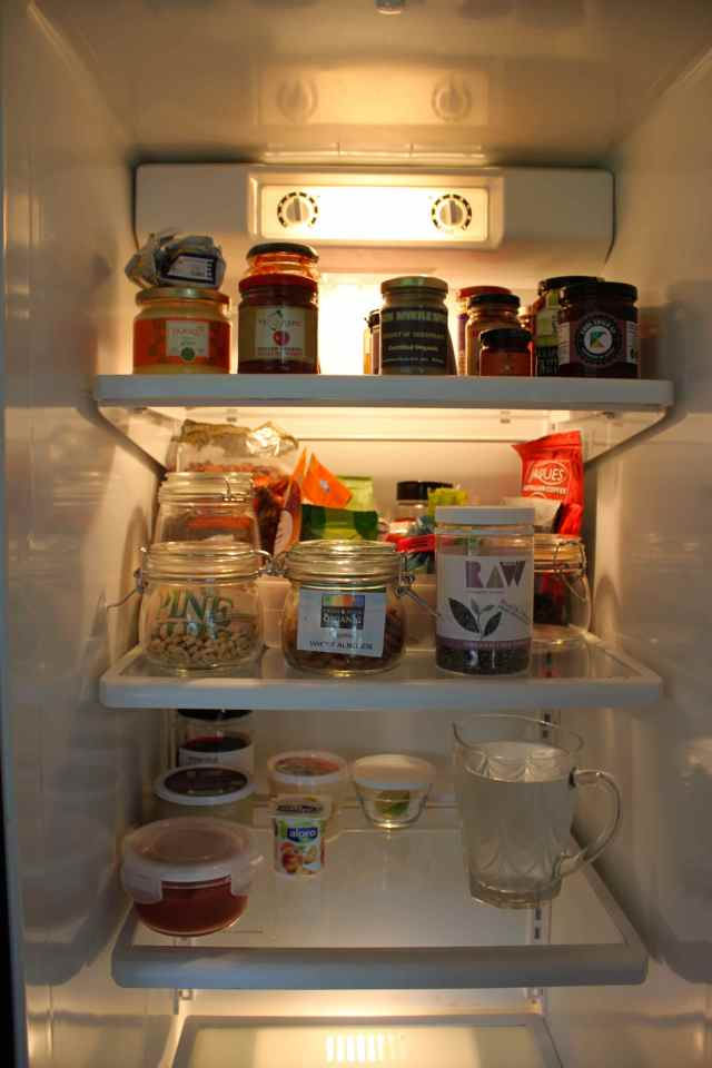 top half fridge