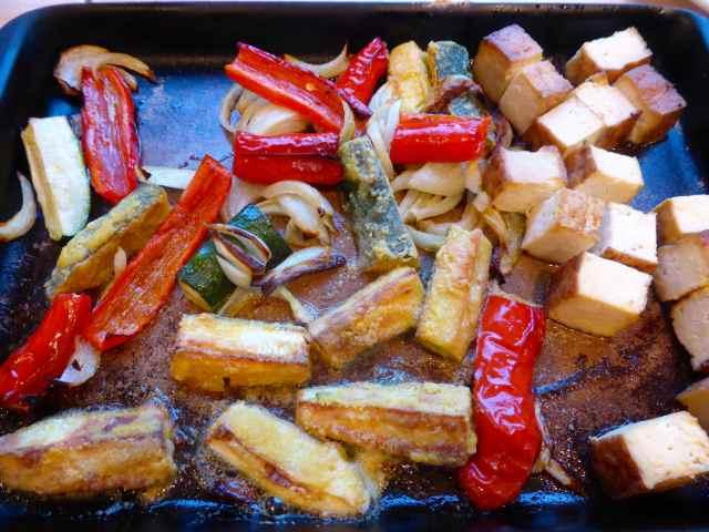 tray of veg 30-4-15