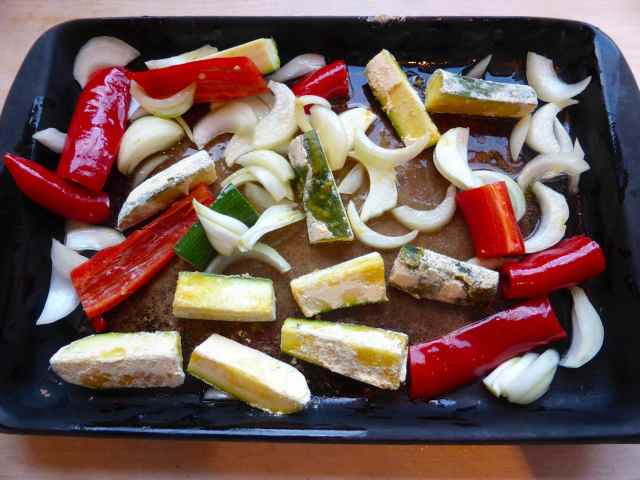 veg on tray 30-4-15