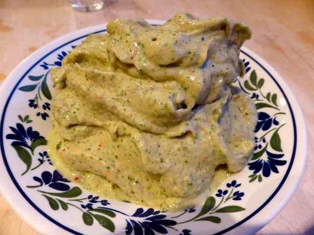 banana and kale nice-cream