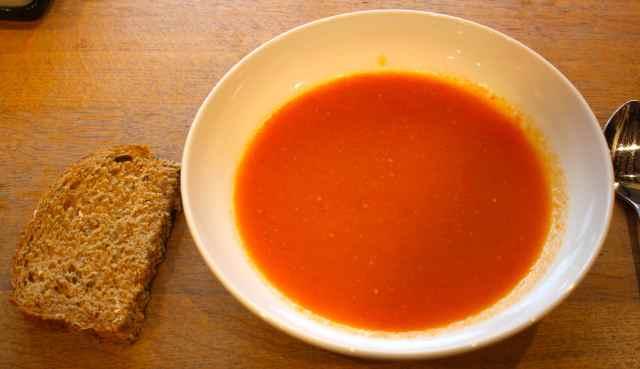 Helen's tomato soup