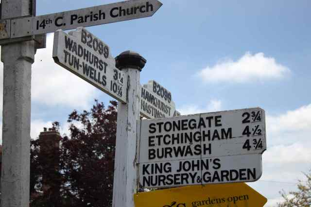 Kent signpost