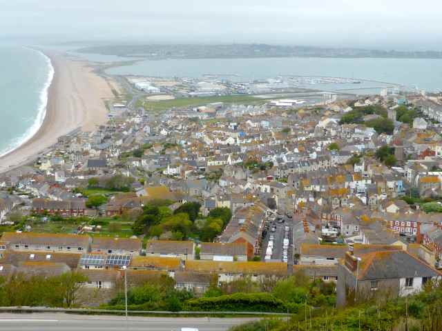 Portland and Chesil Beach