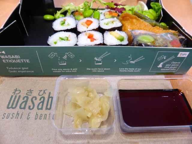 wasabi box etiquette