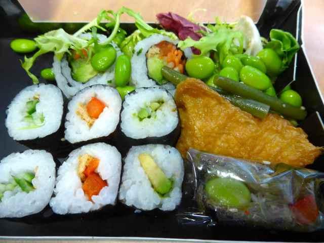 Wasabi veggie box