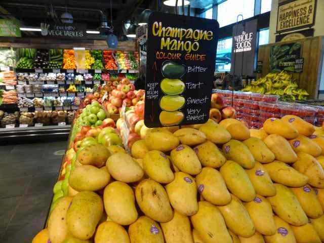 Wholefoods champagne mango