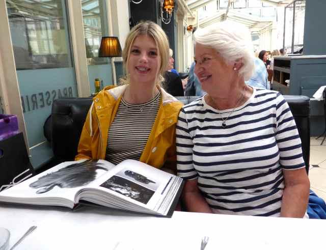 Maddie and Inge