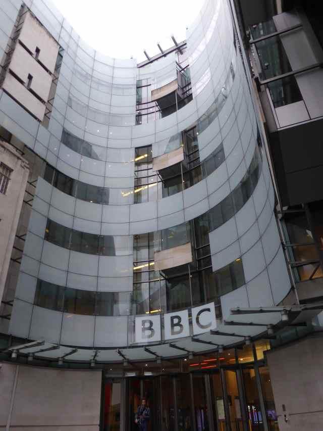 BBC frontage