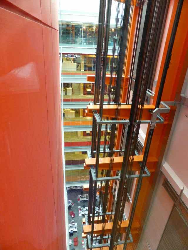 BBC Lift shaft