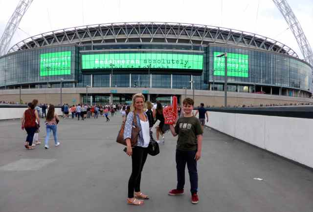 L and H at Wembley