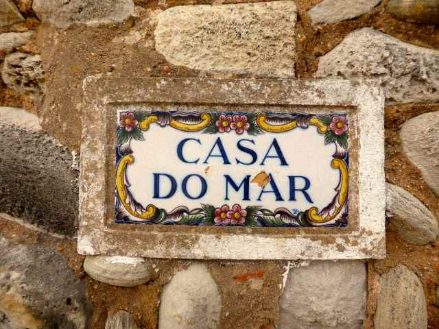 casa do mar sign
