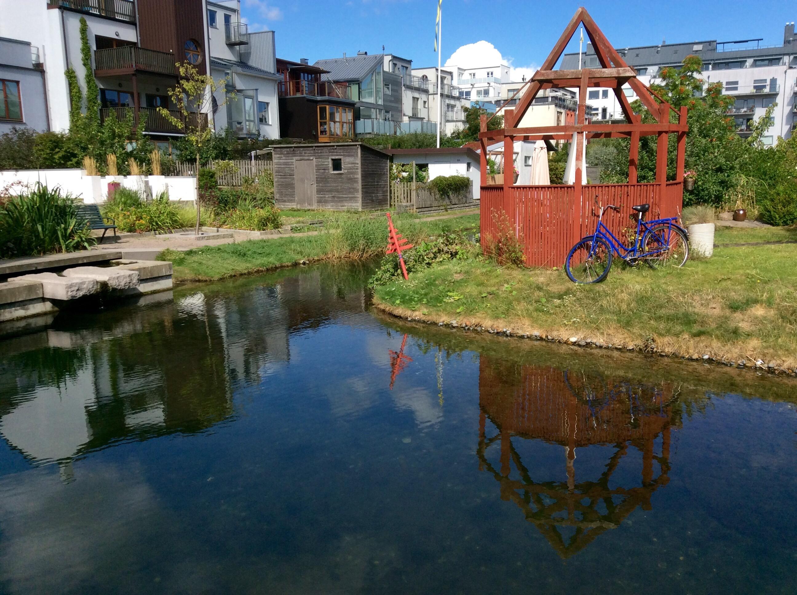 Cycling Around Malmo