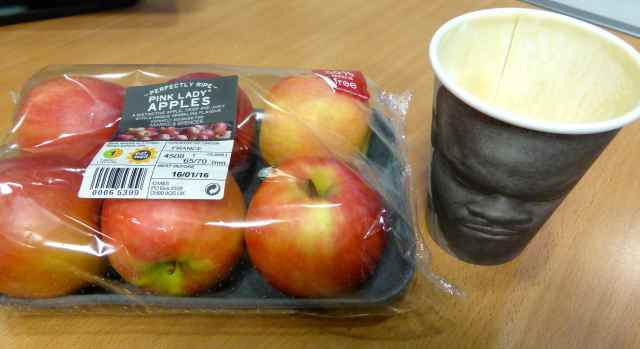 apples and coffee