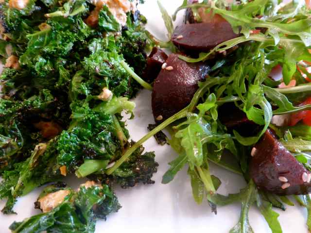 Basil salad