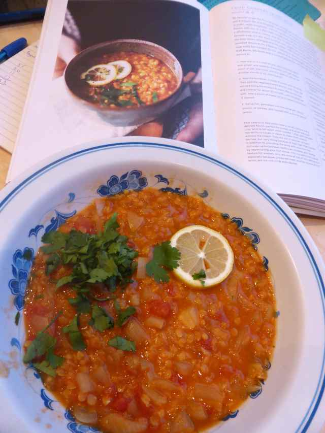 dal soup and recipe phot