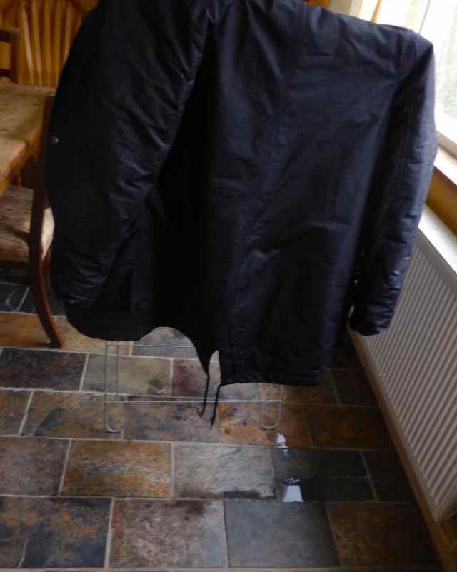 dripping coat
