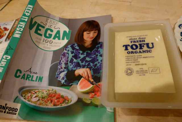 keep it vegan and tofu