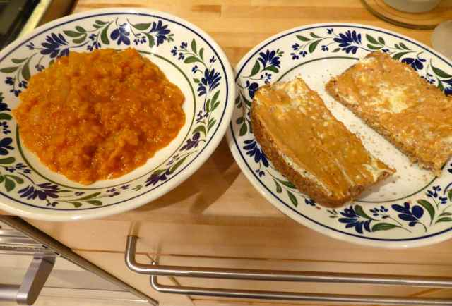 toast and dal