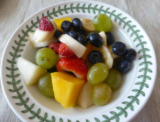 fruit salad at Ian's