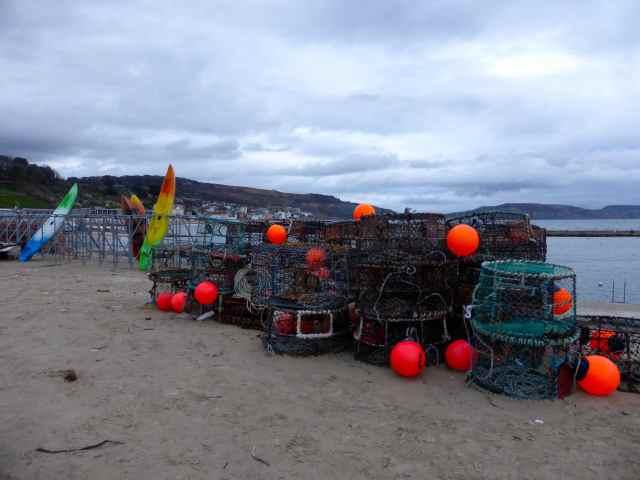 Lyme fishing baskets